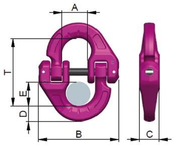 Technische informatie RUD ICE verbindingsschalm IVS