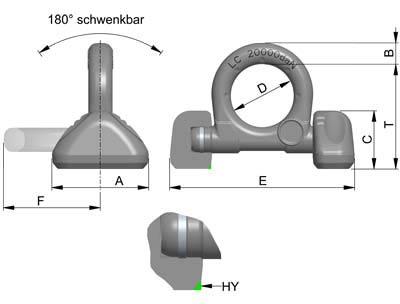 Technische informatie RUD LRBS-FIX sjoroog lasbaar