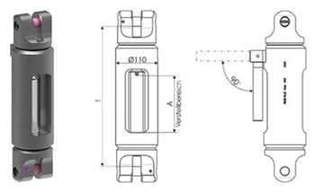 Technische informatie RUD VIP turnbuckle VLE