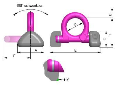 Technische gegevens RUD hijsoog VRBS-FIX